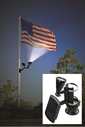 m t pour drapeau 4 en 1 clair lumineux et panneaux publicitaires arbre lumi re et piquet. Black Bedroom Furniture Sets. Home Design Ideas