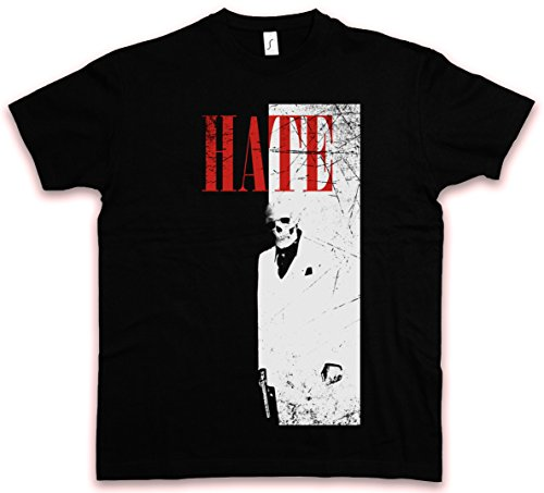 HATE FACE HC HATE COUTURE T-SHIRT - Al Tony Pacino Mafia Montana TM Scarface Shirt Tailles S - 5XL