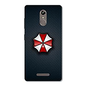 OVERSHADOW DESIGNER BACK COVER for Gionee S6s ( SELFIE FLASH )