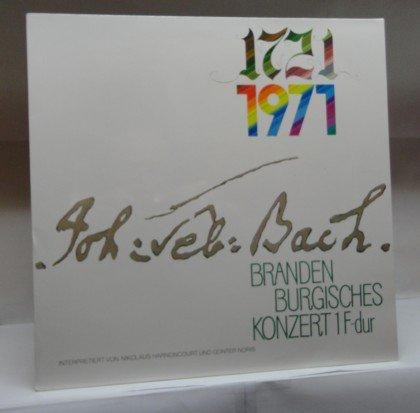 J.S. Bach : 1.Brandenburgisches Konzert F-dur/BWV 1046 ; Interpretiert von Nikolaus Harnoncourt und Günter Noris [Vinyl LP]