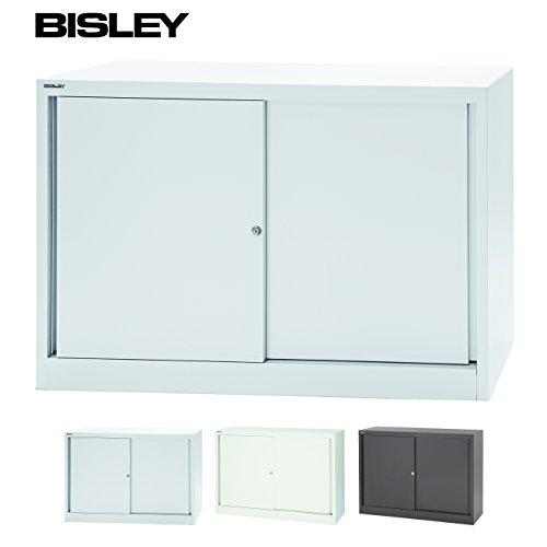 BISLEY Schiebtürenschrank   Aktenschrank   Werkzeugschrank   Schrank mit Schiebetüren aus Metall...