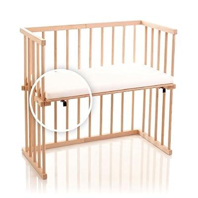 dreamgood-135116auxiliar cama haya con colchón Prime y nido, color marrón