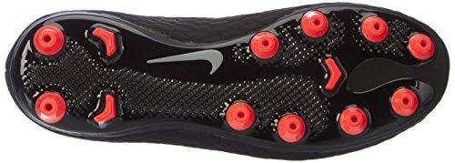 Nike Hypervenom Phinish Ii Agpro, Scarpe da Calcio Unisex – Bambini Nero (Black/metallic Silver-black-anthracite)