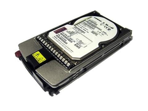 Hewlett Packard Enterprise 72,8Go, 10K, WU3, Hotplug–Disque dur (10K, WU3, Hotplug, unité de disque dur SCSI, Wide Ultra3SCSI, horizontal, Wide Ultra3SCSI)