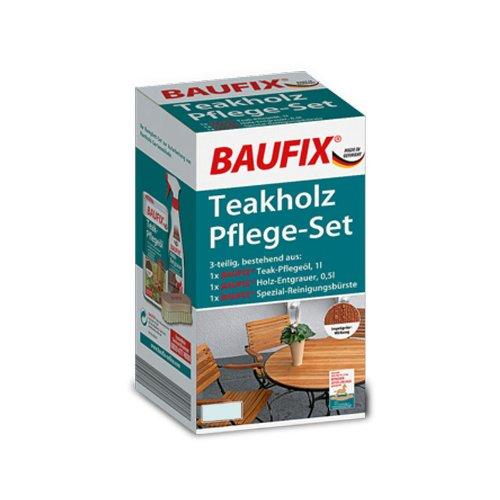 BAUFIX Teakholz-Pflege-Set teak