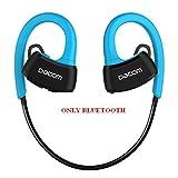 EMEBAY – Casque écouteur sans fil Bluetooth sport écouteur Bluetooth plongée IPX7 écouteurs Intra-auriculaires sans fil Bluetooth Headset Bluetooth 4.1 (Bleu)