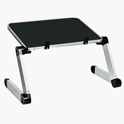 AILEYOU Laptop-Schreibtische, tragbare Faltbare verstellbare Schreibtisch Aluminiumlegierung Computertische Ständer Tray Notebook Lap PC Klapptisch -