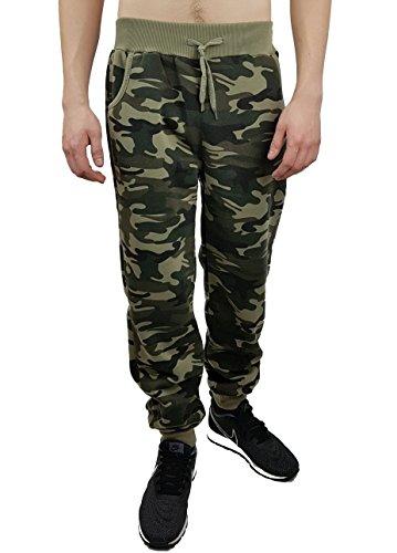 Army Jogginghose, Freizeithose, camouflage Braun, Gr. XXXL, H1002