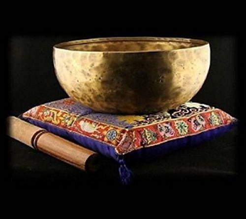Panotophia Nada Yoga Klangschale ca. 470 gr. - Nepal handgehämmert mit Holzklöppel