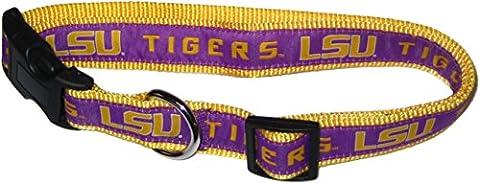 Pets première Collegiate LSU Tigers Collier pour animal domestique, petite