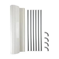 Tambour Door kit ideale (340MM larghezza x 650mm Drop) per camper e camper Kitchen Storage compatibile con la maggior parte di camper mobili Kits