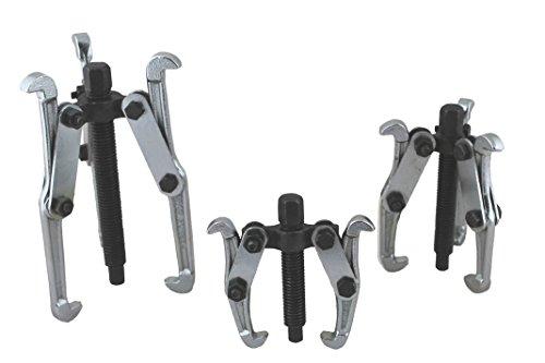 3 Extractores de 75, 100 y 150 mm para extraer Poleas, rodamientos, cojinetes, engranajes...