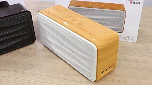 Divoom One Beat 500 - Altavoz con Bluetooth, Color Madera
