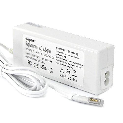 "60W 16.5V 3.65A Sunyear® Netzteil Ladegerät für MacBook 13\"" und Macbook pro 13\"" zum Beispiel A1181, A1184, A1185, A1278, A1330, A1334, A1342, A1344 MA538LL/A/B MA255LL/A usw. mit Ladekabel"