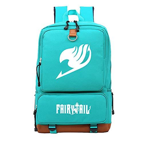 Fairy Tail FT Rucksack Daypack Laptop Tasche Umhängetasche College-Tasche Büchertasche - Fairy Tail Happy Kostüm