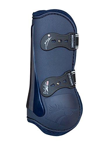 Gera 8024TblueS Dolphin Pro Sprunggamasche, vorne, blau