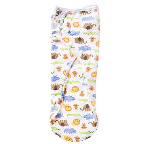 EMJA Premium Baby Pucksack (1-4 Monate) - Optimale Puckdecke für Winter und Sommer dank Reißverschlußsystem - Qualitatives Pucktuch mit Klettverschluß sorgt für erholsamen Schlaf für die ganze Familie