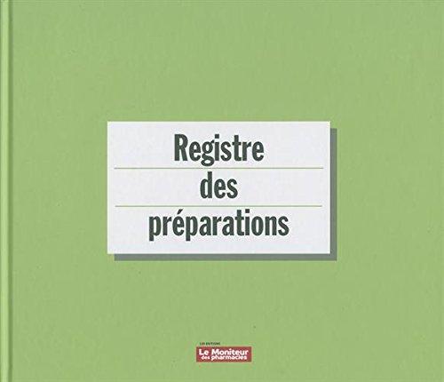 Registre des préparations