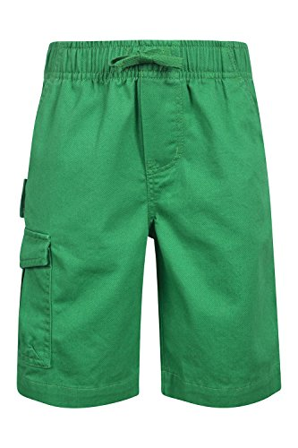 Mountain Warehouse Lakeside Cargo Kids Shorts Green 11-12 years