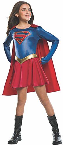 Official Supergirl TV Series Costume in three sizes from ages 3 to 10 years. Top quality