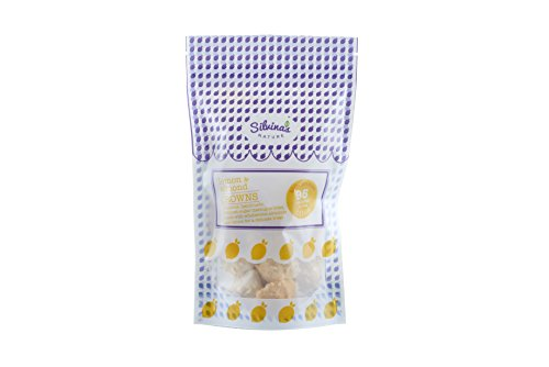 Lemon & Almond Crowns- High Protein & Low Calorie Yummy Crowns- Large 20g bag