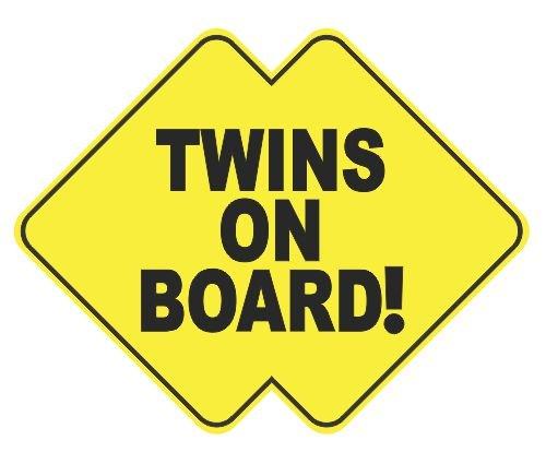 Twins On Board Vinyl Aufkleber Aufkleber - Toyota Trd Decals