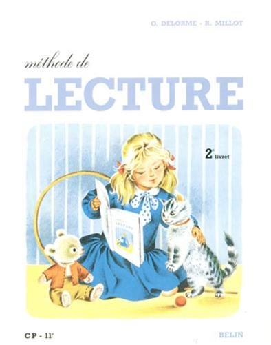 L'enfant et la lecture CP. Deuxième livret de lecture, méthode