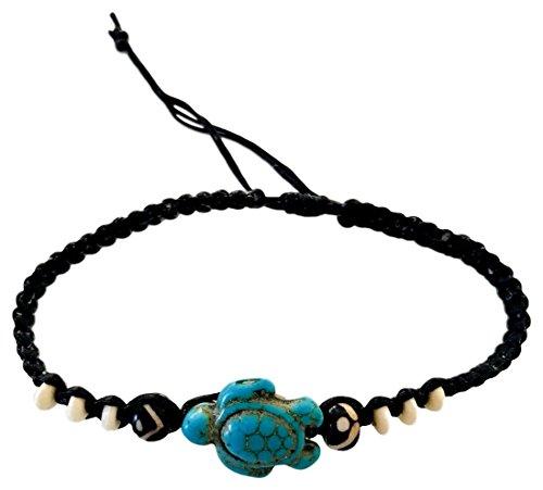 Sun Life Style Schildkröten Armband (Türkis)