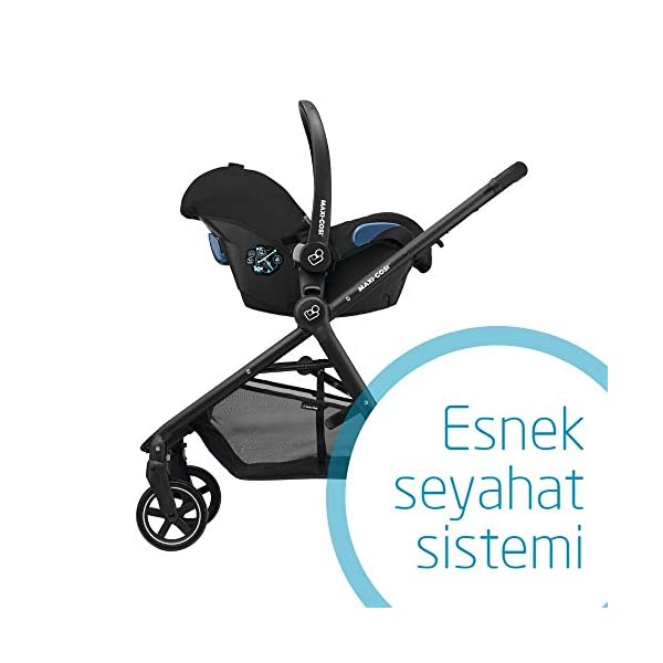 Maxi-Cosi Kinderautositz Citi Black Raven Maxi-Cosi Side protection system, guarantees optimal protection in the event of a side impact Lightweight, light weight and ergonomically shaped safety bar for use as carrying handle Practical travel system 5