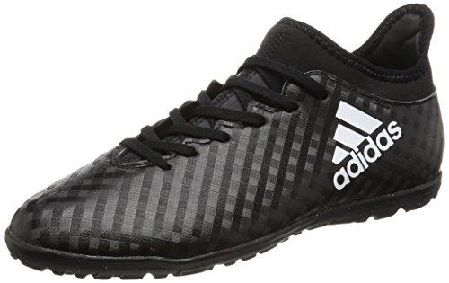 adidas Jungen X 16.3 Tf J Fußballschuhe CBLACK/FTWWHT/CBLACK