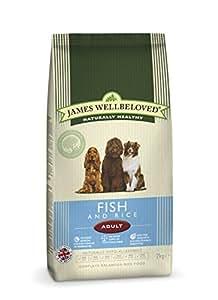 James Wellbeloved Dog Food Adult Fish and Rice Kibble 15kg