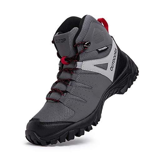 Scarpe da Trekking Impermeabili da Uomo Scarpe da Escursionismo Calzature da Escursionismo da Uomo
