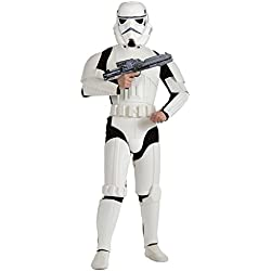Star Wars - Disfraz Stormtrooper deluxe adultos (Rubie's Spain 888572)