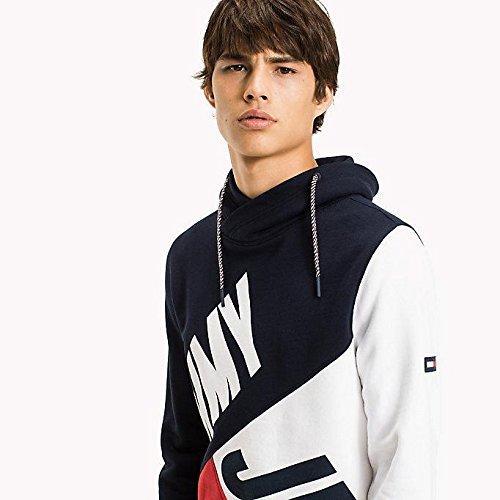 Tommy Jeans Men's Colour Block Sweatshirt, Multicoloured