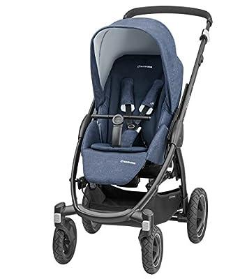maxi-cosi Stella cochecito con capota extra y Exterior de neumáticos, extremadamente Manejable y asiento en combinación con bañera o desde el nacimiento nutzbar (0-15kg), color beige