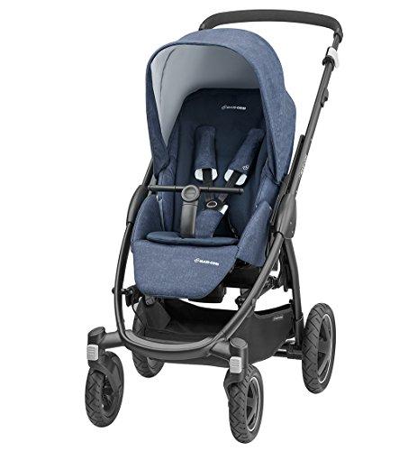 Maxi-Cosi Stella Kinderwagen mit extra großem Verdeck und Outdoor-Reifen, extrem wendig und in...