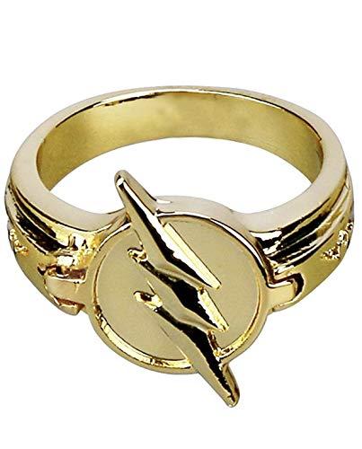 Flash Replica ring Umkehrring Größe 10 Zinklegierung Nachbildung Kostüm Zubehör
