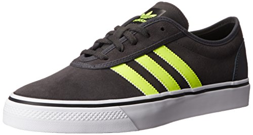Adidas Originals Adi-ease Schnürschuh, Collegiate Rot / Schwarz / Dunkelgrau Heather Fest Grau, 6.5 Dark Grey Heather Solid Grey/Solar Yellow/Black