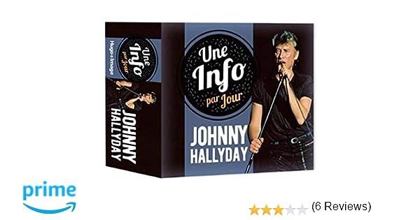 Amazon Fr Une Info Par Jour Johnny Hallyday 2020