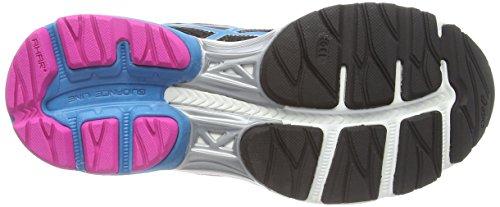 Asics Gel-pulse 7, Chaussures de Running Entrainement Femme Noir (black/turquoise/pink glow 9040)