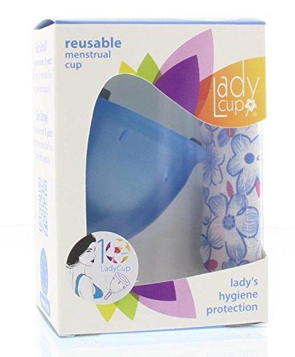 LadyCup Blue L(arge) Menstruationstasse groß
