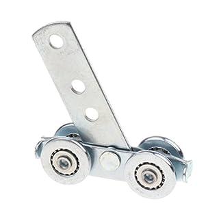 Baoblaze 1 Stück Falttür Roller Möbel Schiebetür Lüfterrad Riemenscheibe Vohang Zubehör