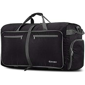 c94a17869c52 Skypak 90L Folding Travel Bag - Black: Amazon.co.uk: Luggage