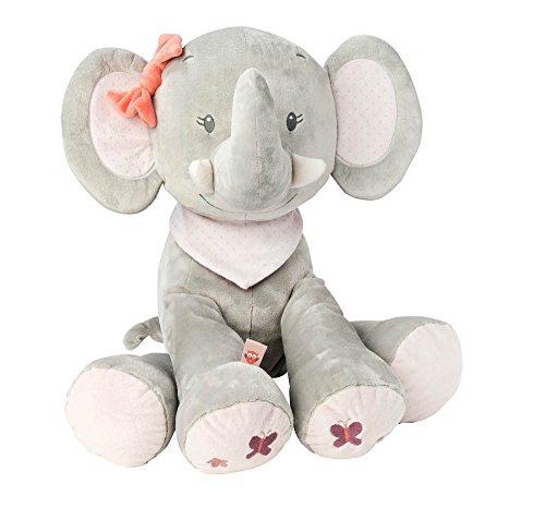 Nattou NA424028-Set de regalos para recién nacidos, color maxi elefante adèle (424028)
