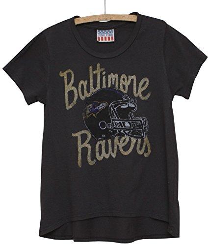 NFL Girl 's Youth Spiel Tag Glitter Tee (Kids T-shirts Food Junk)