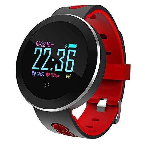 Bluetooth Smartwatch Fitness Uhr Intelligente Armbanduhr Fitness Tracker Smart Watch Sport Uhr, Q8 Smartwatch mit Herzfrequenzsauerstoff-Blutdruck für Android und IOS Smartphones Damen Herren Kinder