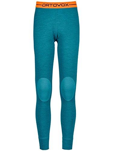 Blend Damen Hose (Ortovox Merino 185Rock 'n 'Wool Long Pants W Thermo Hose, Damen S blau (Aqua Blend))