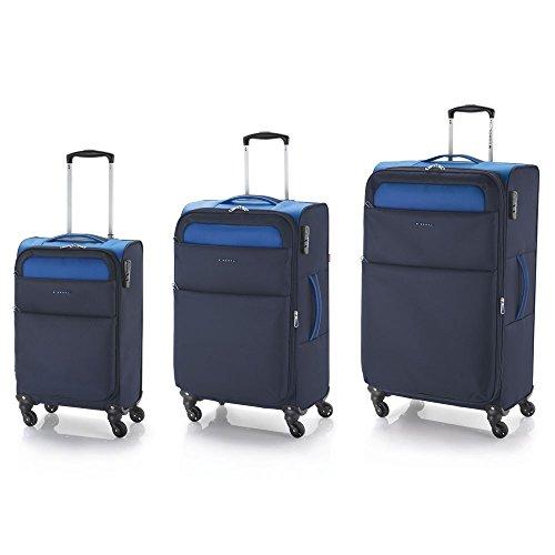GABOL - Juego 3 maletas Gabol Cloud Azul, color Azul