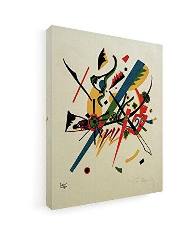 Wassily Kandinsky - Kleine Welten I - 20x25 cm - Leinwandbild auf Keilrahmen - Wand-Bild - Kunst,...