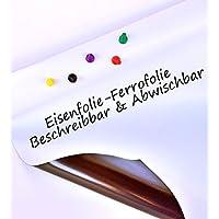 Neu! Eisenfolie Ferrofolie roh weiß glänzend beschreibbar - 0,8mm Stärke - 620mm x 2000mm preisvergleich bei billige-tabletten.eu